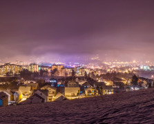 zimska panorama berana sa ajsikovca