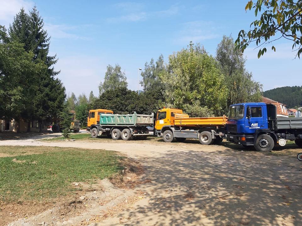Opština finansira rekonstrukciju gradskih parkova