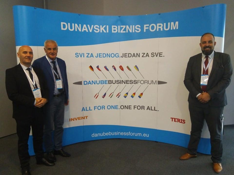 Делегација Општине на Дунавском бизнис форуму