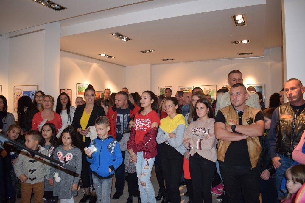 Otvorena izložba dječjih radova u Polimskom muzeju