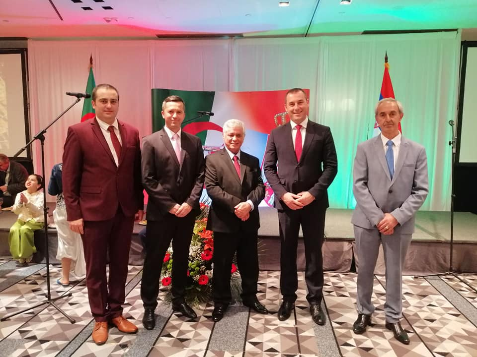 Делегација Општине на пријему поводом националног празника Алжира