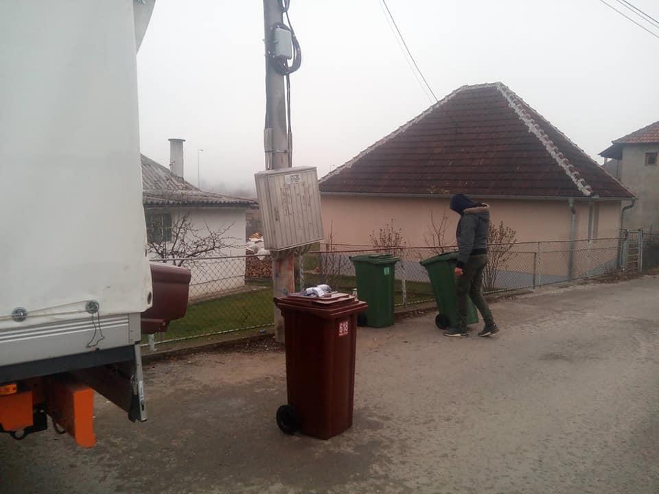 Почиње одвожење отпада у МЗ Ново насеље и Парк