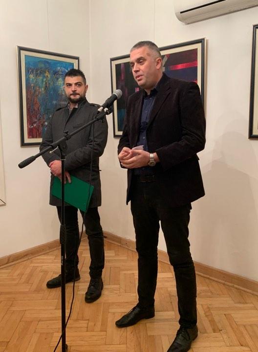 Отворена изложба радова са 8. Међународне ликовне колоније