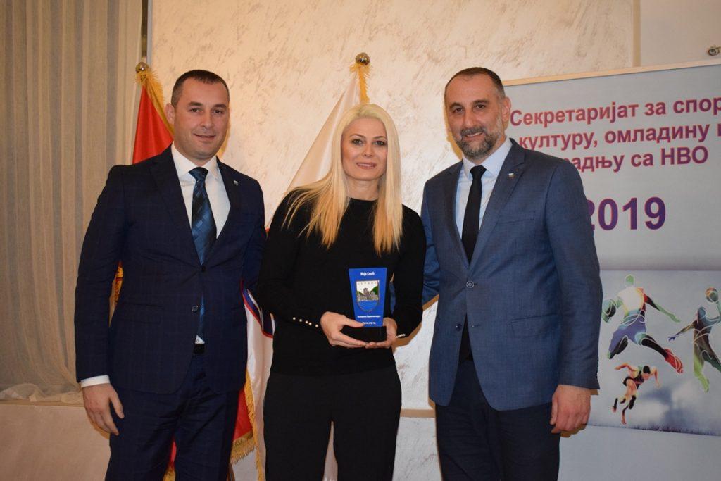 Стријелац Милош Божовић други пут најбољи спортиста Берана