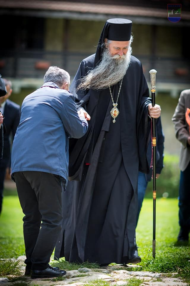 Patrijah Pavle ga rukopoložio u čin episkopa, u dva mandata član Svetog sinoda SPC: Episkop Joanikije