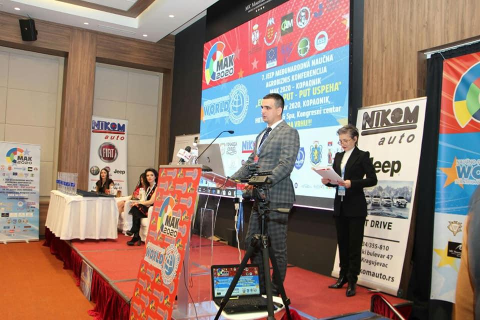 Општина Беране добила престижну награду за развој предузетништва