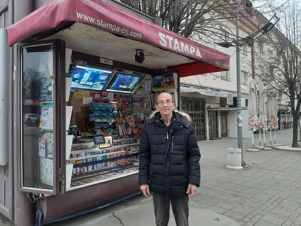 VIDIMO SE KOD BAĆKOVE TRAFIKE: Priča o Baćku, najpoznatijem prodavcu novina