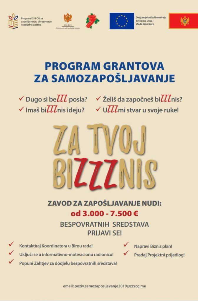 Промоција Програма грантова за самозапошљавање
