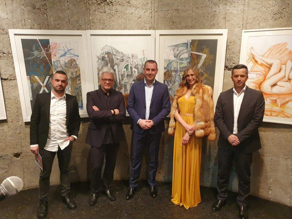 Беранац Дејан Бабовић отворио изложбу у Београду, присуствовао предсједник Шћекић