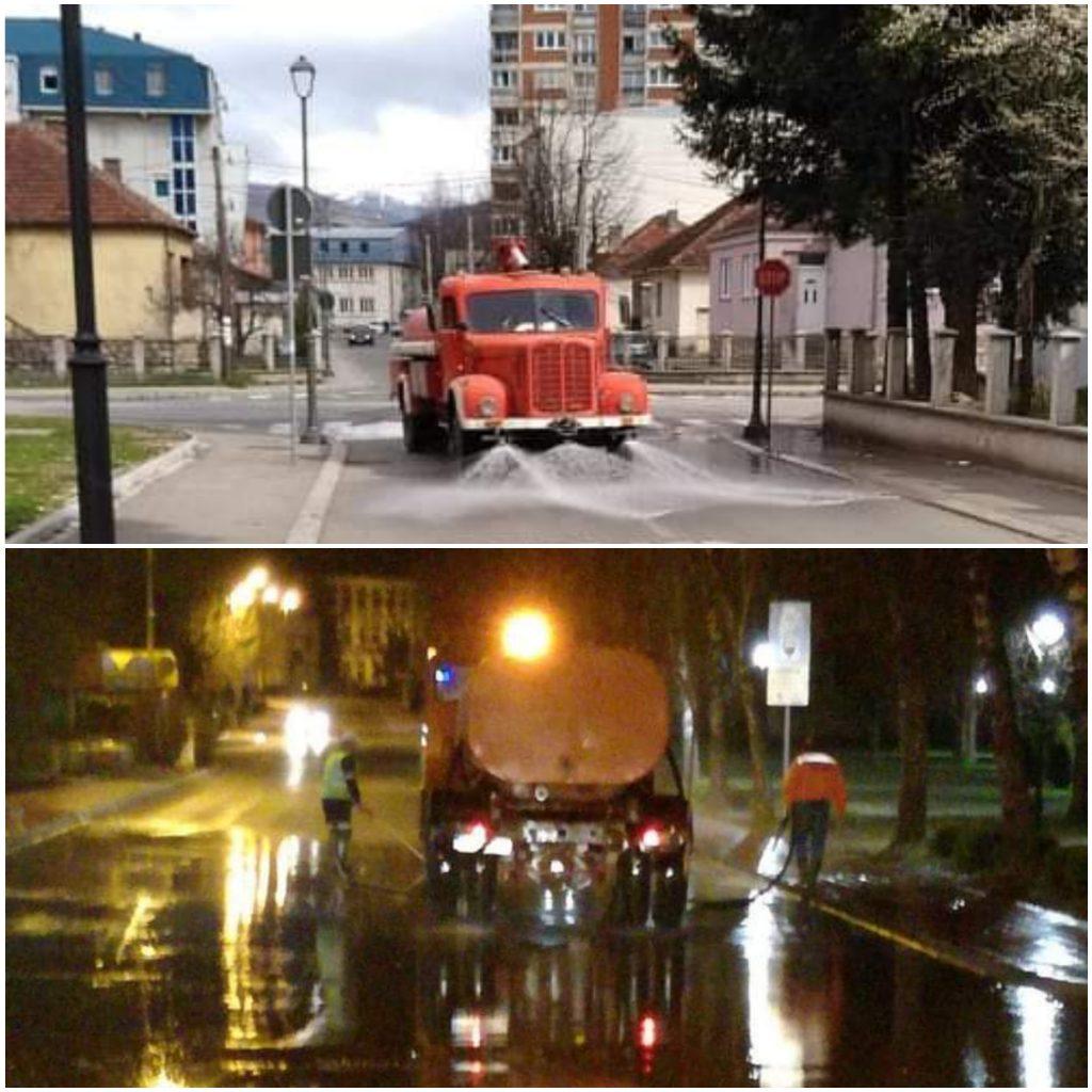 Настављена акција чишћења и прања улица