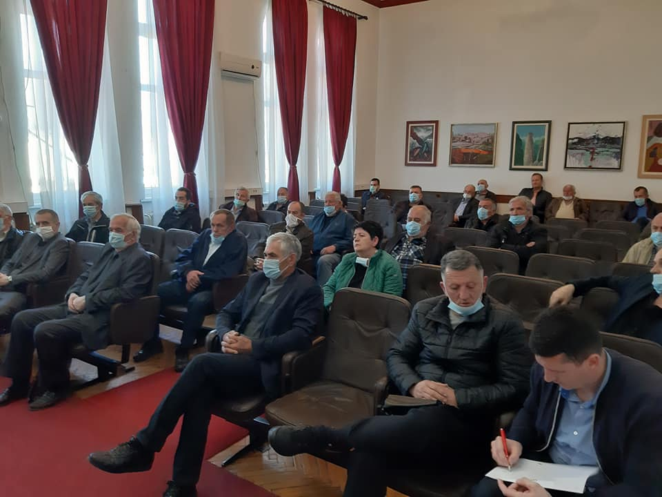 Одржан састанак са представницима МЗ поводом расподјеле помоћи пензионерима општине Беране