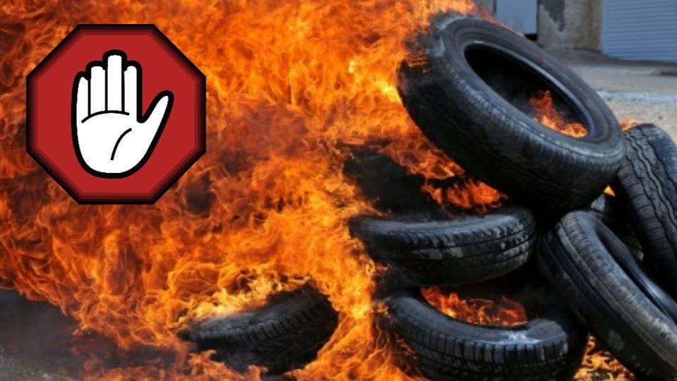 Апел грађанима да не пале гуме за 1. мај, a аеродромска писта и даље затворена