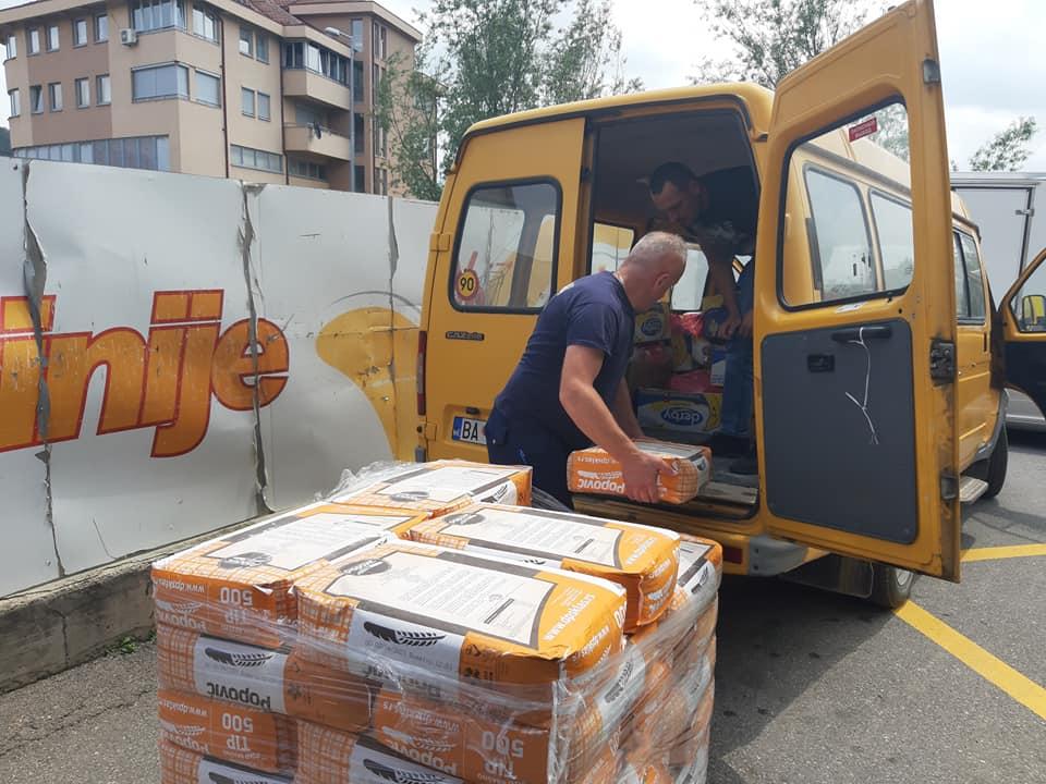 Општина уручила пакете помоћи за 20 породица поводом Рамазана