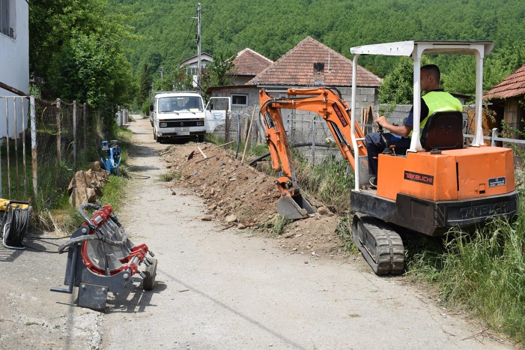 У току реконструкција водоводне мреже у МЗ Берансело