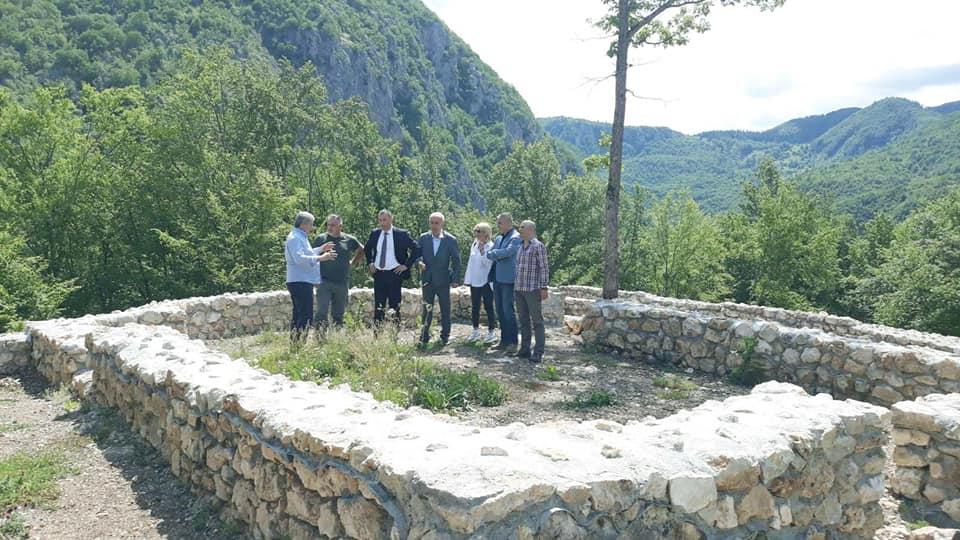 Предсједник Шћекић посјетио локалитет Тумбарице и Полимски музеј