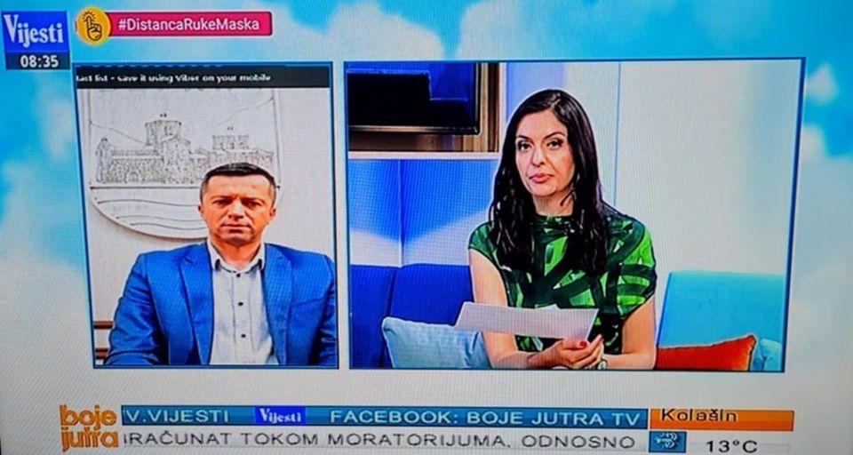 Стојановић за ТВ Вијести: Надамо се да ће се Беране и овај пут изборити са короном