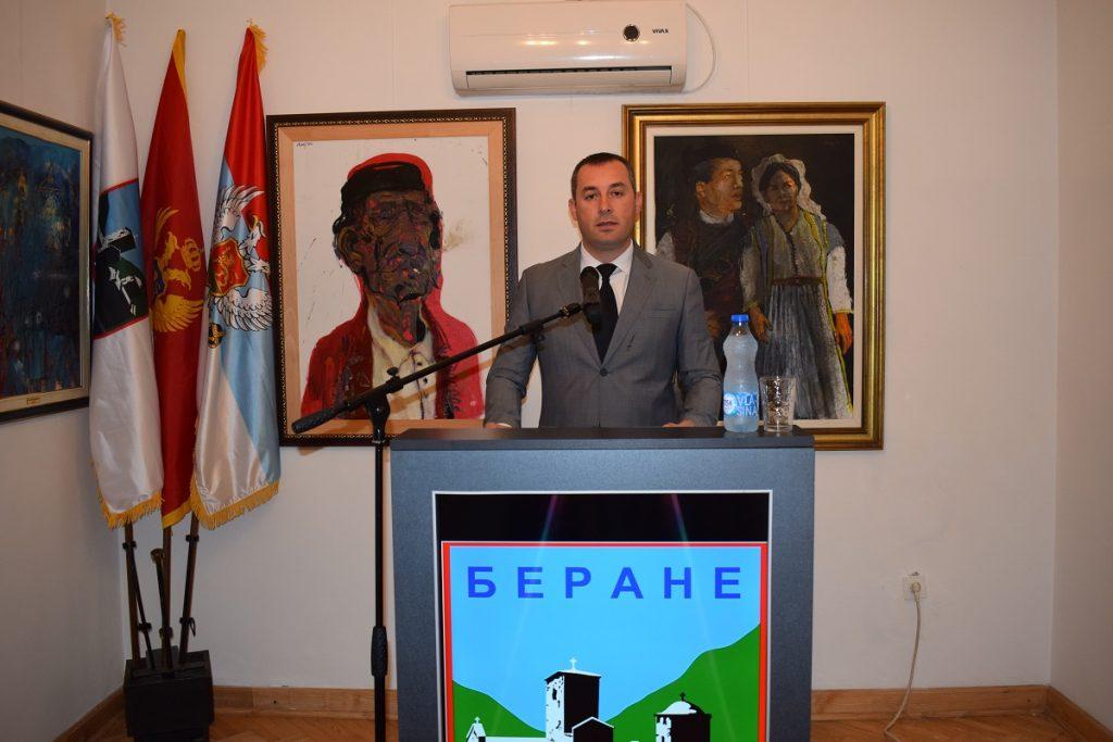 Предсједник општине Драгослав Шћекић честитао грађанима 21. јул - Дан општине Беране (ВИДЕО)