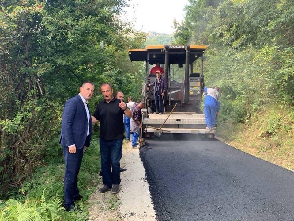 Општина наставља са унапређењем путне инфраструктуре на сеоском подручју