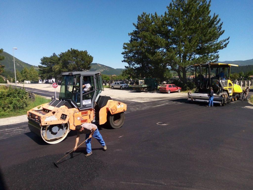 Počelo asfaltiranje gradskih saobraćajnica
