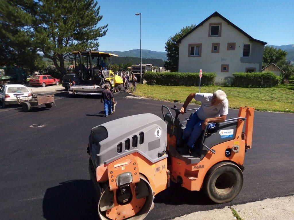 Почело асфалтирање градских саобраћајница