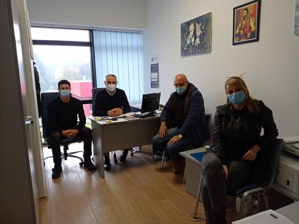 Састанак представника пројекта PRAXIS и Секретаријата за младе - МЛАДИ У ФОКУСУ