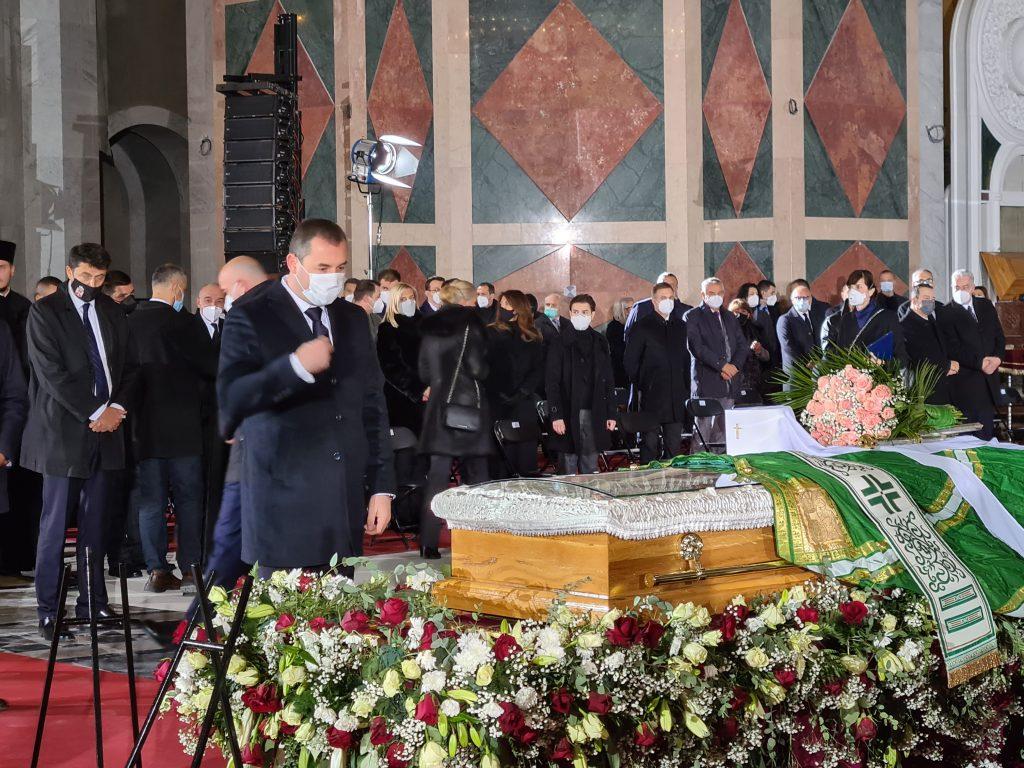 Предсједник Шћекић одао почаст патријарху Иринеју