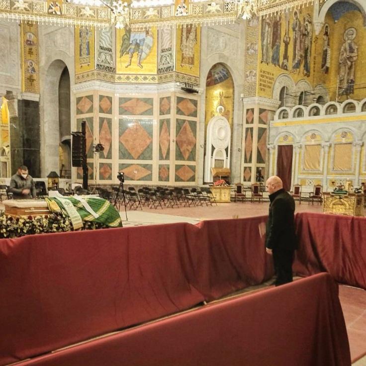 Предсједници општине и СО Беране присуствовали сахрани патријарха Иринеја