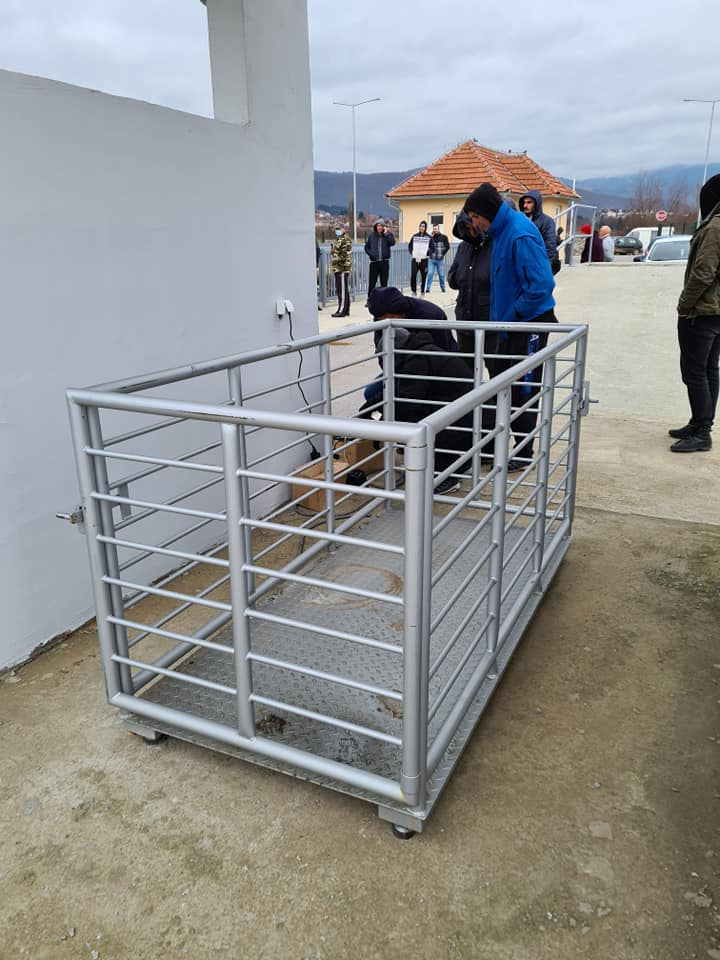 Општина обезбиједила ваге за сточну пијацу, чека се технички пријем па отварање објекта