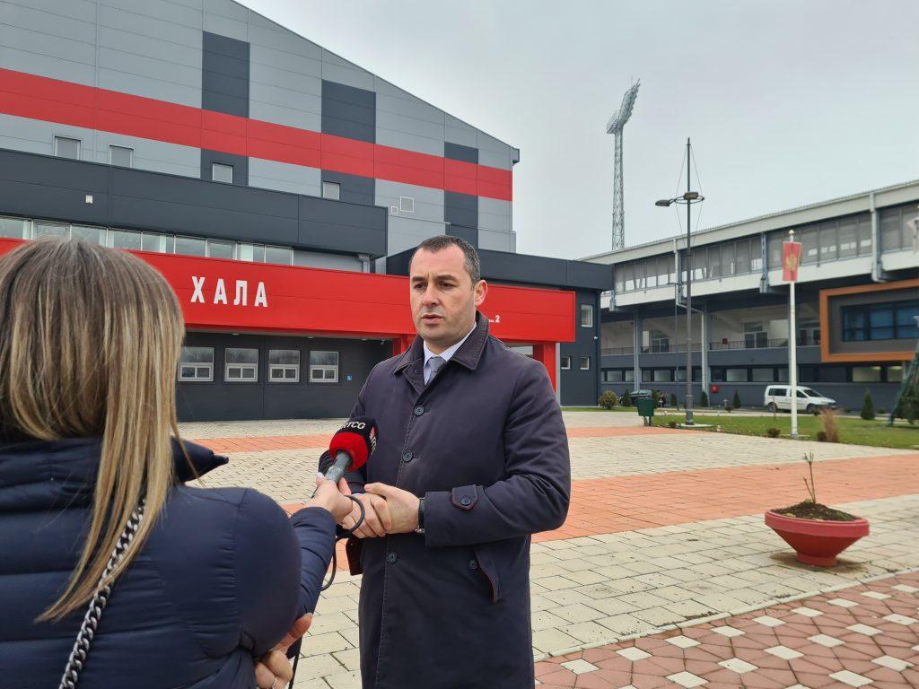Предсједник Шћекић: На мјесту старе хале саградићемо нову за ОСИ, наредне године почињемо са реконструкцијом западне трибине Градског стадиона