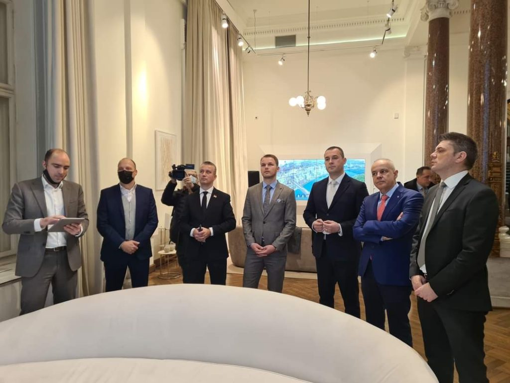 Предсједник Шћекић се састао са градоначелником Београда и градоначелником Бањалуке
