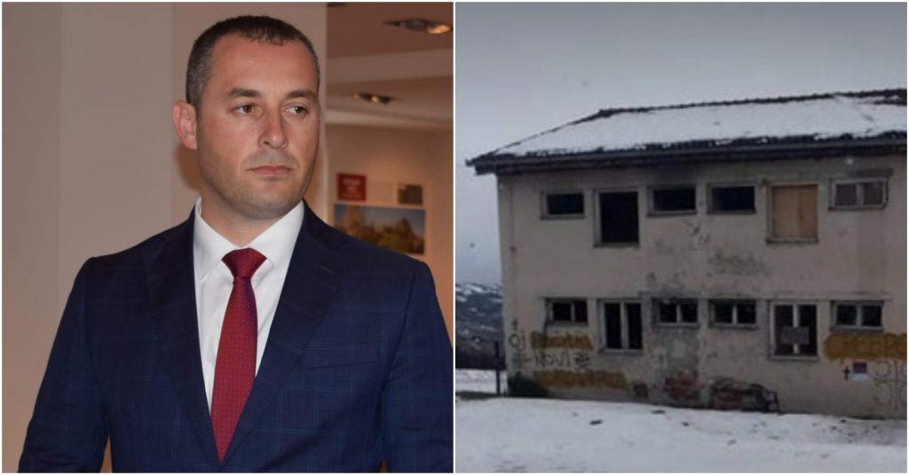 Предсједник Шћекић осудио исписивање графита у МЗ Долац: Чин који долази из ДПС кухиња